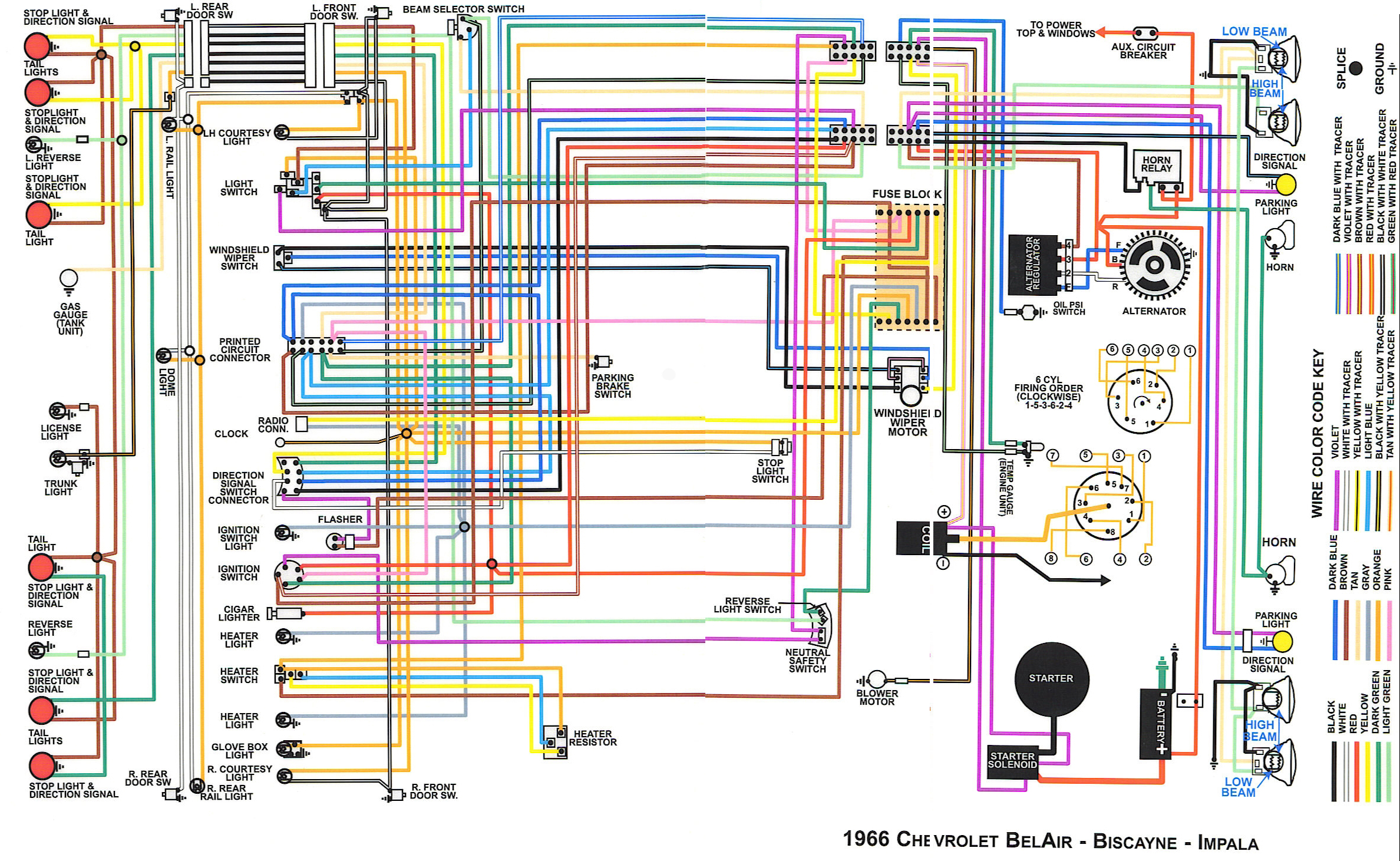 wd wiring diagram for 1964 impala readingrat net 2004 Impala Radio Wiring Diagram at gsmportal.co